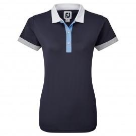 FootJoy Blocked Pique dámské golfové tričko