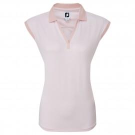 FootJoy End on End Striped Lisle dámské golfové tričko