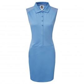 FootJoy Cap Sleeve Pique Dress dámské golfové šaty