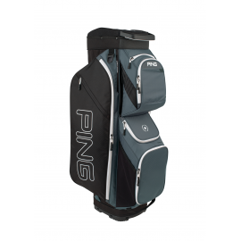 Ping Traverse Cart Bag - Slate/Black/White