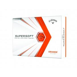 Callaway Supersoft Matte 21 golfové míčky oranžové, 12 ks