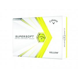 Callaway Supersoft 21  golfové míčky žluté, 12 ks