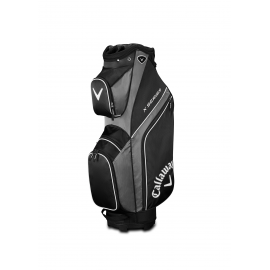 Callaway X Series Cart Bag - Black/Titanium/White