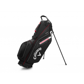 Callaway Fairway C Stand Bag - Black/Silver/Cyan