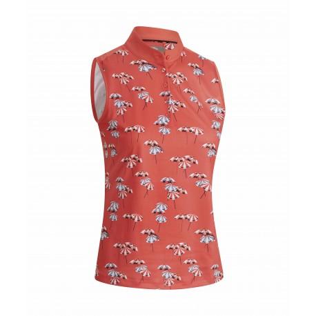 Callaway Parasol Print dámské golfové tričko