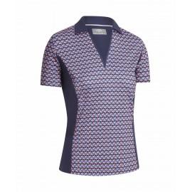 Callaway Deco Geo dámské golfové tričko