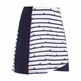 Callaway Birdie Stripe Skort dámská golfová sukně
