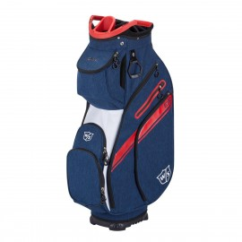 Wilson Staff Exo II Cart Bag - Navy/White/Red