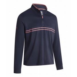 Callaway Textured Print 1/4 Pullover pánský golfový svetr