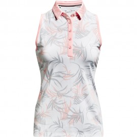 Under Armour Zinger Sleeveless Novelty dámské golfové tričko