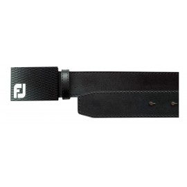 FootJoy Smooth Black Leather Belt