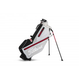 Titleist Players 4 StaDry Stand Bag - Microchip/Black/Red