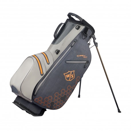 Wilson Staff Dry Tech II Carry Bag - Black/Grey/Orange
