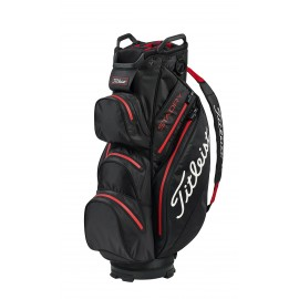 Titleist StaDry Cart Bag - Black/Red