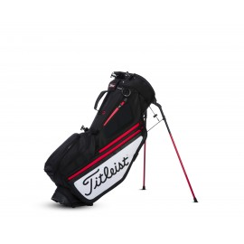 Titleist Hybrid 5 Stand Bag - Black/White/Red