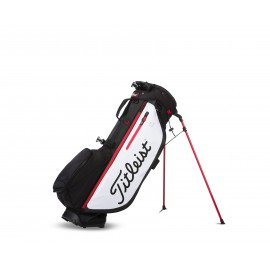 Titleist Players 4 PLUS Stand Bag - Black/White/Red