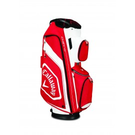 Callaway Chev Org Cart Bag - Red/White/Black
