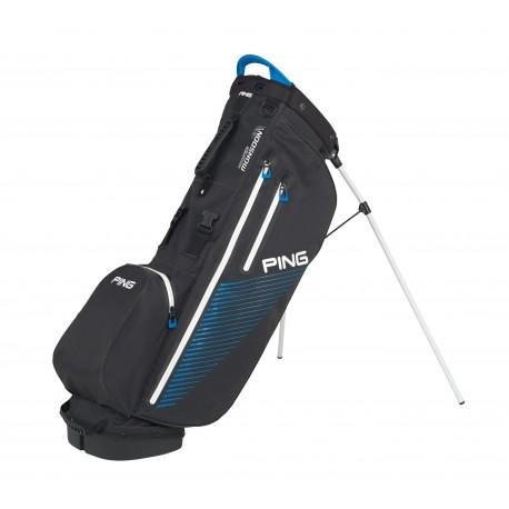 Ping Hoofer Monsoon Carry Bag - Black/Birdie Blue