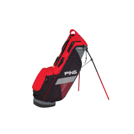 Ping Hoofer Carry Bag - Scarlet/Black/White