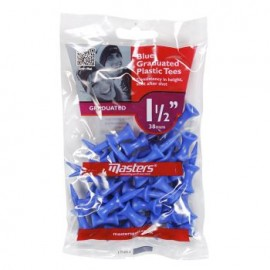 Master Golf Graduated Plastic Tees 38 mm