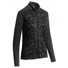 Callaway Floral Fleece Jacket dámská golfová mikina