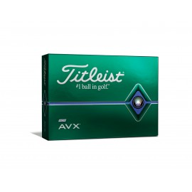 Titleist AVX golfové míčky bílé, 12 ks