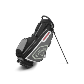 Callaway Chev Stand Bag - Black/Charcoal