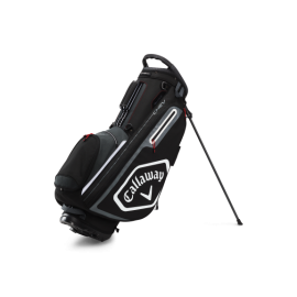 Callaway Chev Stand Bag - Black/Charcoal/White