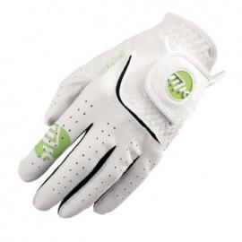MKids dětská golfová rukavice - White/Lime Green - L