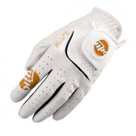 MKids dětská golfová rukavice - White/Orange - S