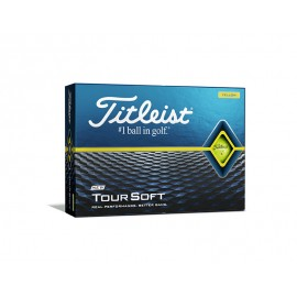 Titleist Tour Soft 2020 golfové míčky žluté, 12 ks