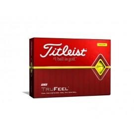 Titleist TruFeel 2019 golfové míčky žluté, 12 ks